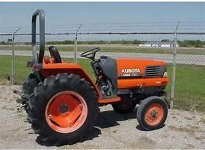 Free Kubota L2900 L3300 L3600 L4200 Tractor Operator