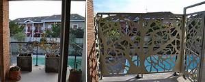 Brise Vue En Alu : brise vue terrasse palissadesign brise vue de terrasse ~ Melissatoandfro.com Idées de Décoration