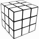 Cube Coloring Rubiks Rubik Colouring Colorear Kolorowanki Kostka Rubika Rubicks Patterns Printable Dzieci Dla Drawing Cubos Cubo Kleurplaten Sheets Template sketch template