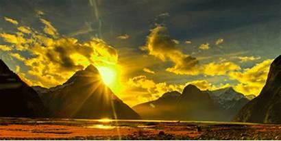 Nature Movimiento Paisajes Sunrise Landscape Earth Fondos