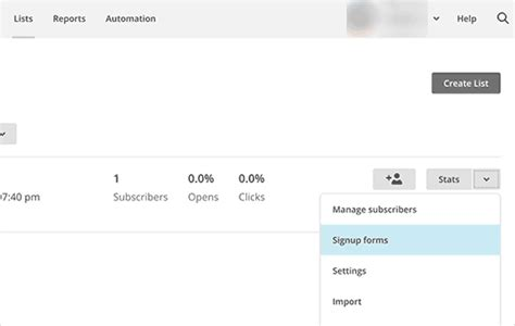 code for pretty horizontal mailchimp signup form how to add email subscriptions to your blog