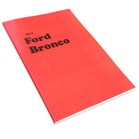 manuals toms bronco parts