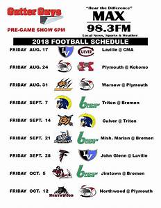2018 MAX 983 Sports Broadcast Schedule Sports To The Max
