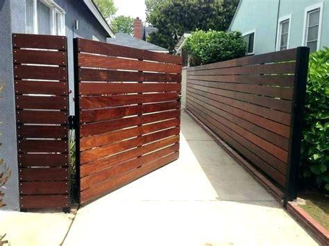 modern wood gate modern fence gate backyard gate ideas