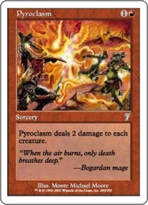 pyroclasm the magic the gathering wiki magic the