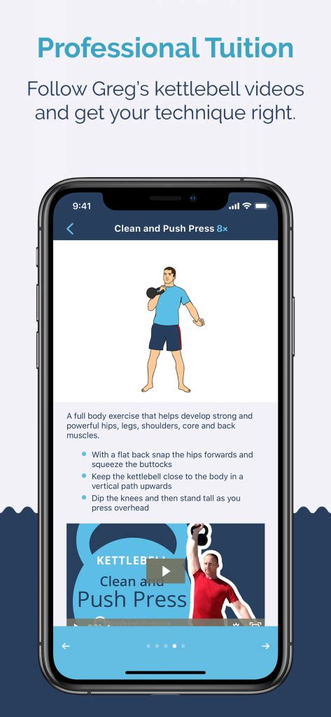 kettlebell wizard workout app iphone update exercise option quick via