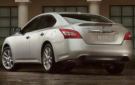 2010 Nissan Maxima Ground Clearance Specs