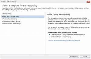 mastering mdm with windows intune biztech With mobile device management policy template