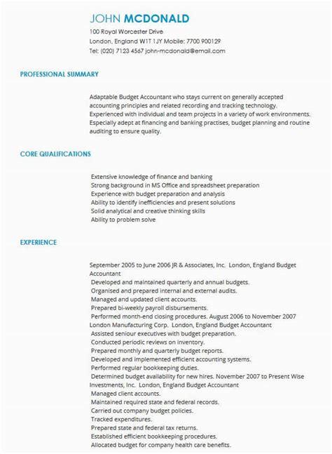 cv samples cv templates  industry livecareer