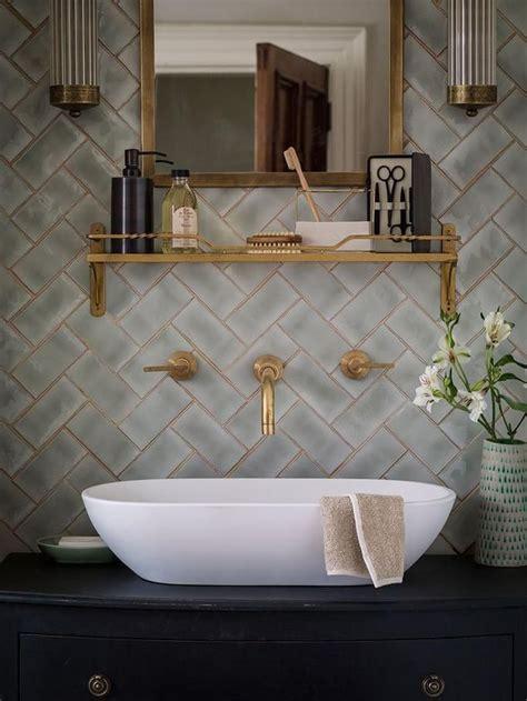 grey  gold   bath greige design blog