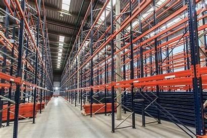 Warehouse Empty Racks Racking Pallet Magazijn Rack