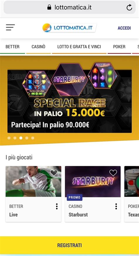 lottomatica mobile gioconews player lottomatica ecco il nuovo sito mobile
