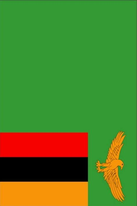 Download Zambia Flag iPhone Wallpaper