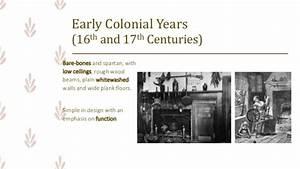 ARCHINT: Colonial Period (Interior Design + Furniture Design)