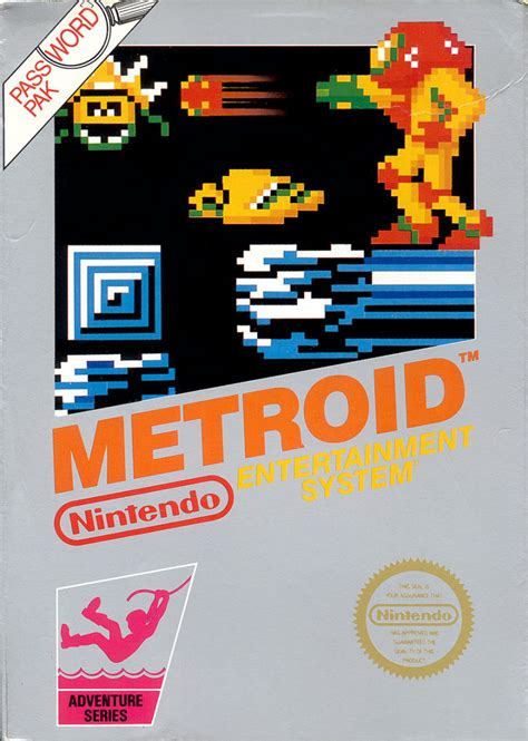 Metroid 1986 Nes Box Cover Art Mobygames