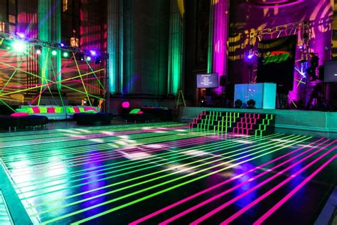 floor and decor atlanta see how lasers inspired the neon look of a bat mitzvah