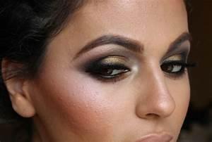 Maquillage Mariage Yeux Vert : maquillage yeux verts en style vintage et l gant ~ Nature-et-papiers.com Idées de Décoration