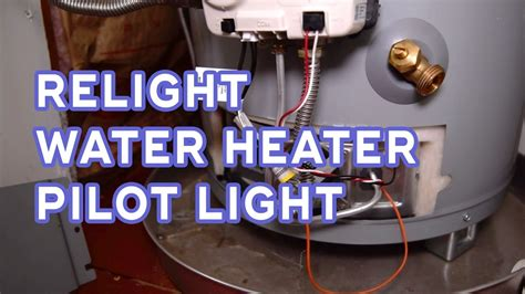 How To Relight Water Heater Pilot Light  No Hot Water