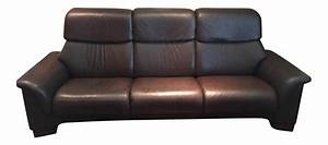 High back leather sofas thesofa for High back leather sectional sofa