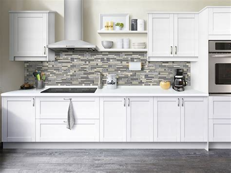 stroemma shaker painted white klearvue cabinetry
