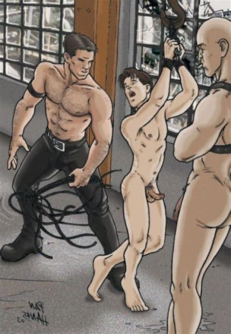Gay Bdsm Cartoon Porn