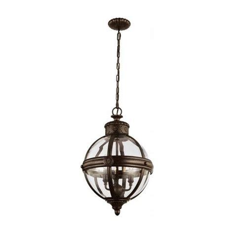 bronze globe pendant light globe shaped clear glass ceiling pendant light with bronze