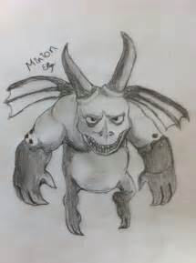 Clash of Clans Minion Drawings