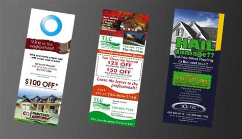 10 Door Hanger Marketing Ideas That Work for Local Small ...