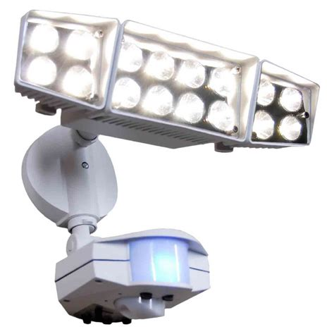 shop utilitech 16 light motion activated security lighting