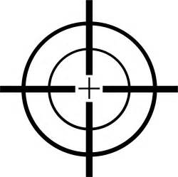 Image result for free clip art crosshairs