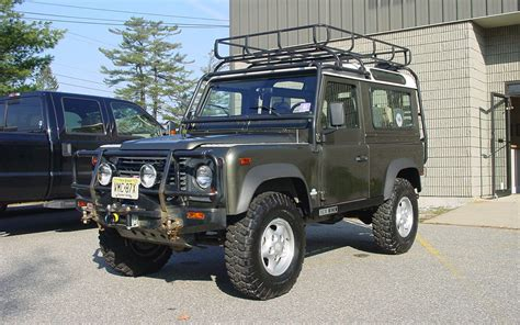 1997 land rover defender 1997 land rover defender 90 limited edition front three