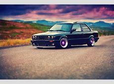 Fonds d'ecran BMW 3 Series E30 325i Noir Voitures
