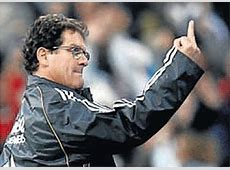 Fabio Capello believes Cristiano Ronaldo is the favorite