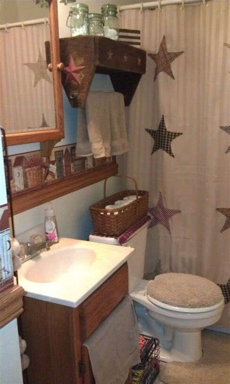 primitive country bathroom ideas 268 best prim bath ideas images on bathroom