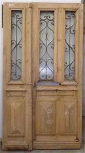 Isolation Porte D Entrée Ancienne : portes d 39 entree anciennes ajourees 2 vantaux portes ~ Edinachiropracticcenter.com Idées de Décoration