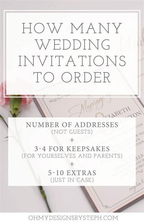 wedding invitations   order