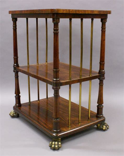 Etagere Vintage by A Regency Rosewood And Brass Etagere Antiques Atlas