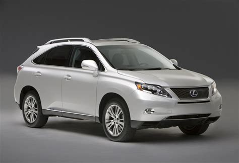 2010 Lexus Rx 350 & Rx 450h Debut In Usa