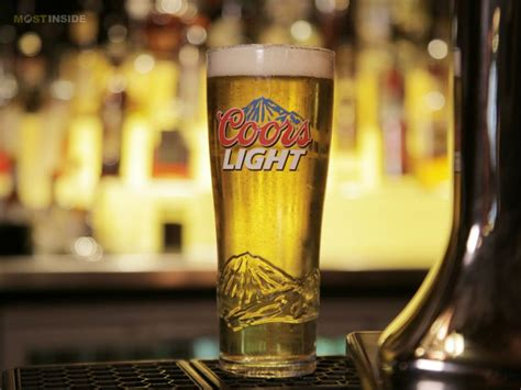 coors light beer alcohol content world famous light lager beers