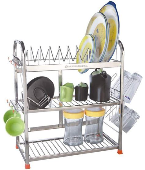 buy amol stainless steel utensils rack    price