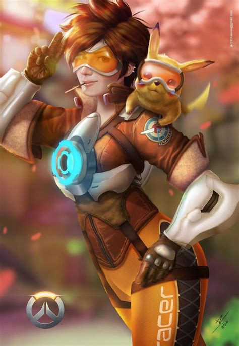 Tracer Memes - overwatch tracer by jazzsiyart on deviantart tracer and pikachu overwatch fan art