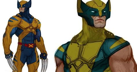 Abandoned Wolverine Movie Concept Art Puts Logan in His ...
