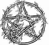 Pentagram Coloring Designlooter Drawings Larger sketch template