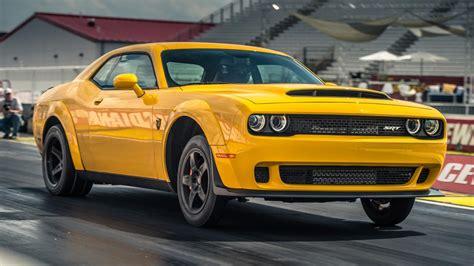 Dodge Challenger Srt Demon Review 840bhp Muscle Car