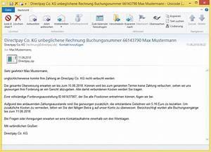 Rechnung Directpay : betreff directpay co kg unbeglichene rechnung ~ Themetempest.com Abrechnung