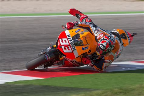 The latest motorcycle racing news: MotoGP Images: Marquez on the edge - Part 1 | News | Crash