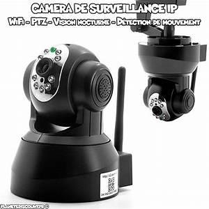 Camera Surveillance Infrarouge Vision Nocturne : cam ras s curit s achat vente cam ra de surveillance wifi pas cher ~ Melissatoandfro.com Idées de Décoration