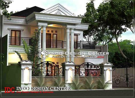 desain rumah klasik mediterania  lantai jasa desain