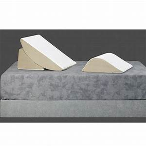 bed wedge 3 piece sit up pillow system at brookstone buy now With brookstone 4 in 1 bed wedge pillow amazon