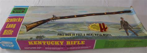1 Kentucky Long Rifle Model Kit #09195